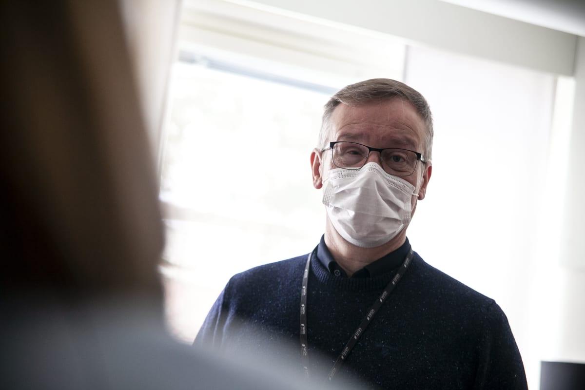 Savon koulutuskuntayhtymän johtaja Heikki Helve