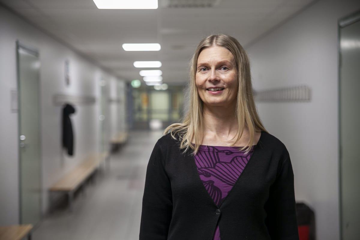 Minna Canthin koulun opinto-ohjaaja Sanna Multala