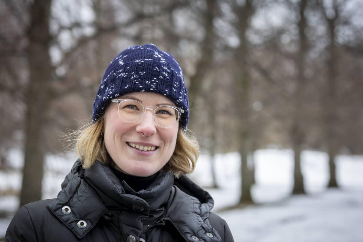 Nathalie Jones-Métivier Munkkiniemiessä.