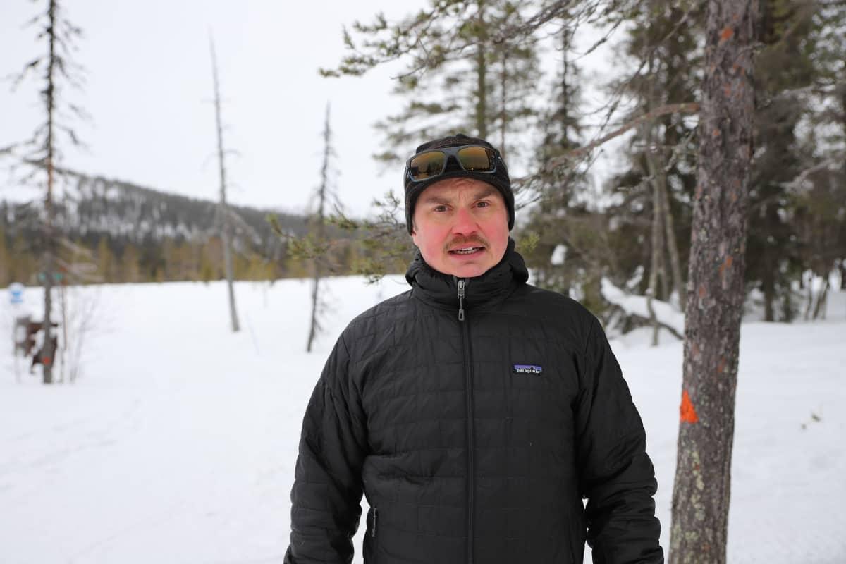 Ylläksen matkailuyhdistyksen toiminnanjohtaja Elias Teriö