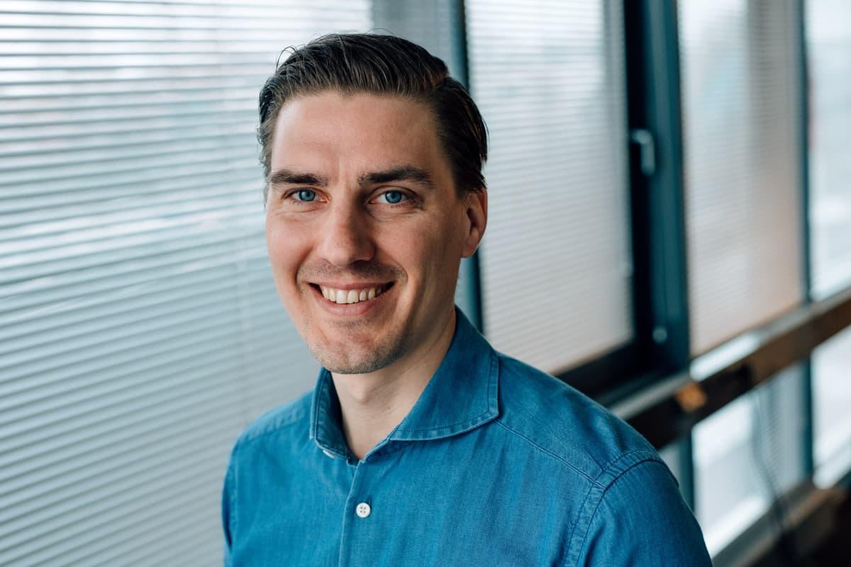 Oda verkkokaupan Suomen maajohtaja Tobias Niemi