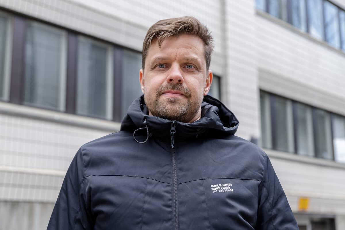 Kiinteistöpäällikkö Vesa Moisio JVA. Henkilökuva.