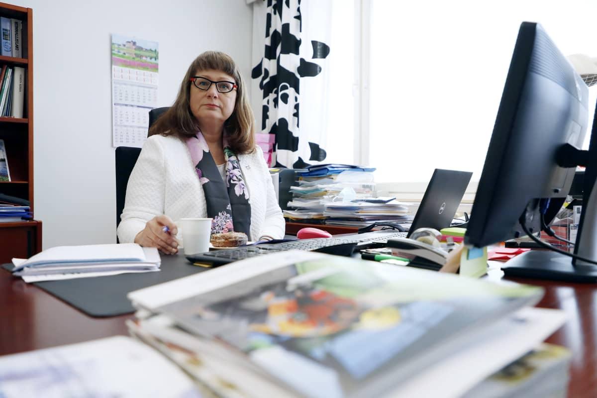 Simon kunnanjohtaja Vivi Marttila