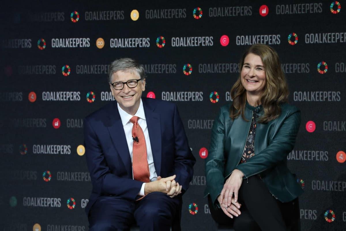 Bill ja Melinda Gates.