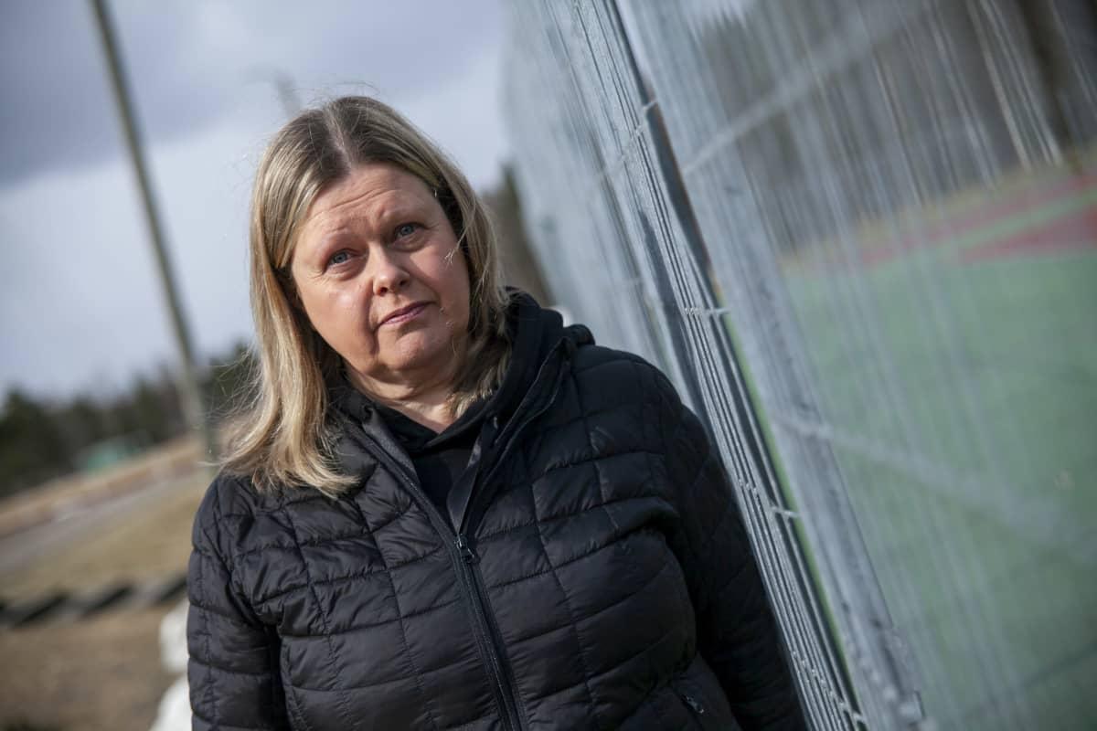 Sari Lappalainen, sihteeri kokoomuksen paikallisyhdistys