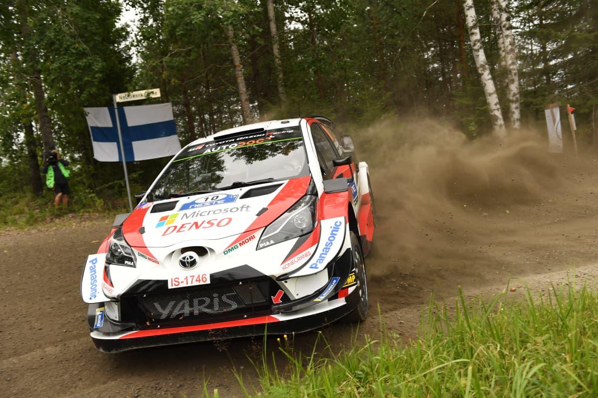 Toyota Gazoo Racingin auto Jyväskylässä 2019