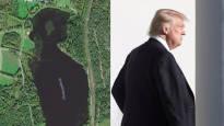 Mies löysi kartalta Trumpin muotoisen lammen – ikivanha selviytymiskeino saa näkemään tuttuja muotoja yllättävissä paikoissa