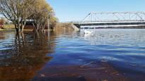 Lapissa pahimmat tulvat vuosikymmeniin – Joenvarren yrittäjä varautunut: