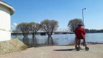 Tornionjoen tulva hidastui: Pahimmillaan vesi nousi 40 senttiä vuorokaudessa