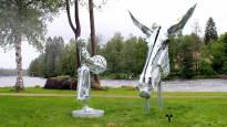 Tiina Torkkelin kohuttu ja kiistelty Lotta-patsas Museo Militarian tuntumaan Hämeenlinnaan?