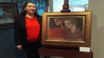 Helene Schjerfbeckin arvomaalaus on reissannut ympäri maailman – todellinen yllätys löytyy teoksen toiselta puolelta