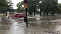 Pori ja Rovaniemi vesistöjen merkittävimmät tulvariskialueet