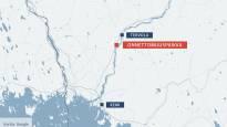 Yksi ihminen kuoli junan ja henkilöauton törmäyksessä Tervolassa