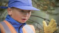 Koululaiset innostuivat arkeologiasta – neljäsluokkalainen Jeremias Tuhkanen: