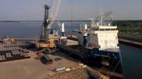 Kaasuputkitoimitukset siivittivät Suomen suurimman vientisataman ennätykselliseen vuoteen