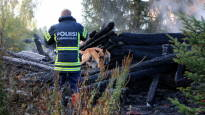 Kiihtelysvaaran kirkon palosta otettu kiinni neljä epäiltyä