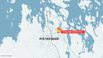 Betonitehtaan autohallin katossa paloi Pietarsaaressa