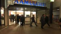 Aamulehden toimitus marssi ulos työpaikalta: 11 menettää työnsä yt-neuvotteluiden seurauksena