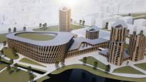 Hämeenlinna saamassa uuden monitoimi-areenan – suurareena keskelle kaupunkia järven rannalle