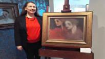 Schjerfbeckin tehdastyöläisiä esittävä maalaus lähtee Riihimäeltä Lontooseen