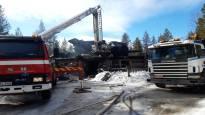 Levin tulipalossa kuolleet kolme ihmistä olivat saman perheen jäseniä – yksi pelastui
