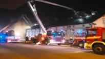 Salon keskustan rakennuspalosta ei enää leviä vaarallista savua – jälkiraivaus käynnissä