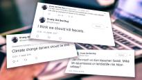 Ли Андерссон: «Это дело так не останется» - в Твиттере призывали убивать фашистов и отрицающих глобальное потепление