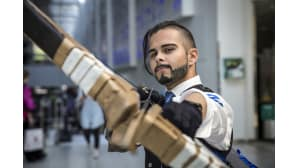 Animecon, cosplay, Hanzo, Overwatch