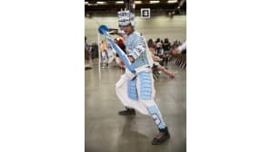 Animecon, cosplay, samurai, lonkero