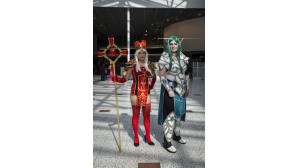 Animecon, cosplay, High Inquisitor Whitemane, World of Warcraft, Tyrande Whisperwind