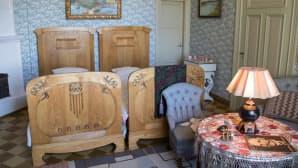 Kotkaniemen makuuhuone