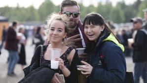 Rockfest, yleisöä