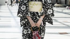 Animecon, cosplay, kimono
