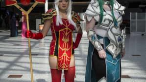 Animecon, cosplay, High Inquisitor Whitemane, World of Warcraft, Tyrande Whisperwind