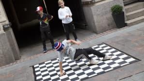 Taiteiden yö, Liukas, breakdance