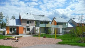 Taloja asuntomessualueella
