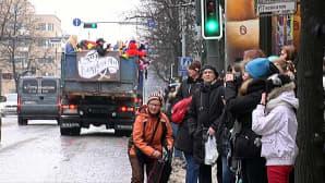 Penkkarijuhlintaa Tampereella