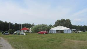 Satama Open Air-festaria pystytetään Kemissä.