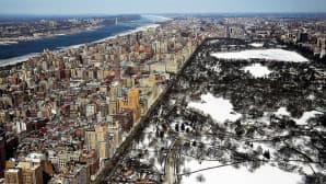 Näkymä talvisesta Manhattanista 20. helmikuuta 2015.