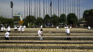 Kokit valmistelevat yli 80 000 'Tacos de Cochinita Pibil' -annosta Guadalajarassa, Meksikossa 15. helmikuuta 2015.
