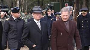 Ruotsin kuningas Kaarle Kustaa ja presidentti Sauli Niinistö.