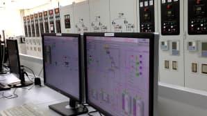 Wärtsilän osaomistama IPP3-polttomoottorivoimalaitos Jordaniassa huhtikuussa 2015.