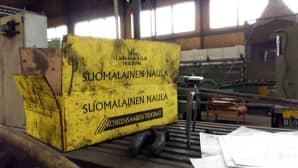 Suomessa on vain kaksi naulatehdasta. Koskensaari on niistä perinteisin.