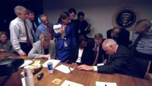 Bushin hallintoon kuuluvia henkilöitä.