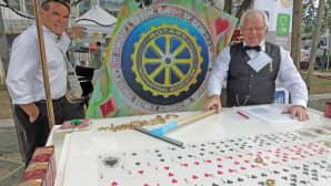 Rotary markkinat Ilkka Springare Juhani Juuruspolvi