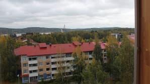 Seitsemännen kerroksen ikkunoista avautuvat laajat maisemat.