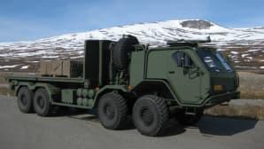Pennasen järeämpää suunnittelujälkeä edustaa Sisu Defence -auto.