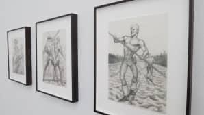Tom of Finland -näyttely Taidehallissa.
