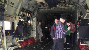 MC-130J ja sisätilan ihmeitä.