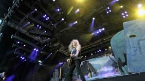 Iron Maidenin kitaristi Janick Gers.